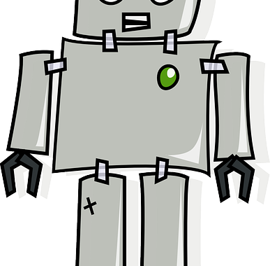 robot cartoon image